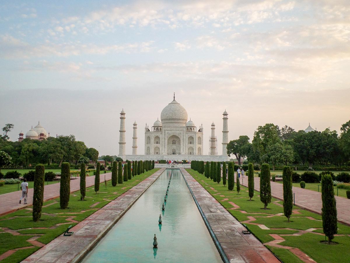 Taj Mahal Agra Indien